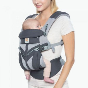 Marsupiu Ergobaby Omni 360 All in One - Cool Air Mesh Carbon Grey