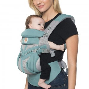 Marsupiu Ergobaby Omni 360 All in One - Cool Air Mesh Icy Mint